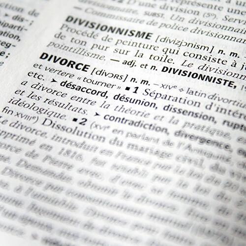 Motifs divorce